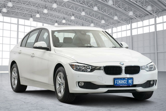 Used BMW 3 Series F30 MY0813 316i Victoria Park, 2014 BMW 3 Series F30 MY0813 316i White 8 Speed Automatic Sedan