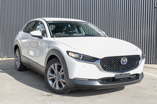 2021 Mazda CX-30 DM4WLA G25 SKYACTIV-Drive i-ACTIV AWD Touring Snowflake White Pearl 6 Speed.