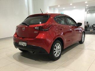 2015 Mazda 2 DJ2HAA Maxx SKYACTIV-Drive Soul Red 6 Speed Sports Automatic Hatchback.