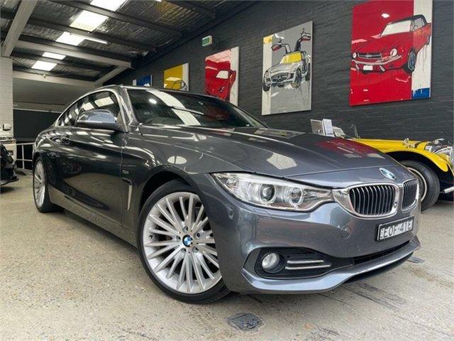Used BMW 4 Series F32 420d M Sport Glebe, 2014 BMW 4 Series F32 420d M Sport Grey Sports Automatic Coupe