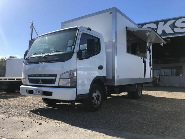 Used Fuso Canter Rocklea, 2010 Fuso Canter White Food Van 4.9l