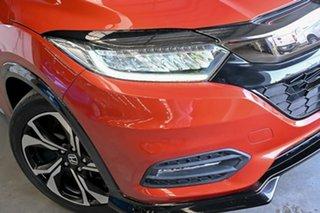 2019 Honda HR-V MY19 RS Orange 1 Speed Constant Variable Hatchback.