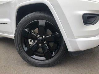2015 Jeep Grand Cherokee WK MY15 Blackhawk White 8 Speed Sports Automatic Wagon.