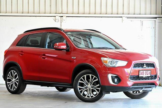 Used Mitsubishi ASX XB MY15.5 LS 2WD Laverton North, 2016 Mitsubishi ASX XB MY15.5 LS 2WD Red 6 Speed Constant Variable Wagon