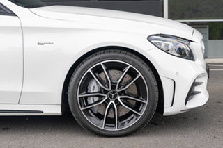 2021 Mercedes-Benz C-Class W205 801MY C43 AMG 9G-Tronic 4MATIC Polar White 9 Speed Sports Automatic