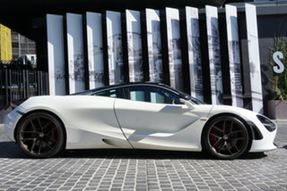 2017 McLaren 720S P14 Luxury White 7 Speed Sports Automatic Dual Clutch Coupe.