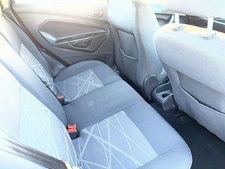 2013 Ford Fiesta WZ Ambiente Orange 5 Speed Manual Hatchback