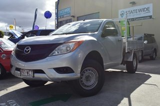 2012 Mazda BT-50 XT (4x4) Silver 6 Speed Manual Cab Chassis