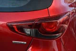 2021 Mazda 2 DJ2HAA G15 SKYACTIV-Drive Pure Red 6 Speed Sports Automatic Hatchback