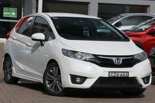 2015 Honda Jazz GF MY15 VTi-L White 1 Speed Constant Variable Hatchback.