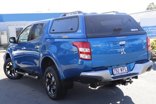 2016 Mitsubishi Triton MQ MY17 Exceed Double Cab Impulse Blue 5 Speed Sports Automatic Utility.