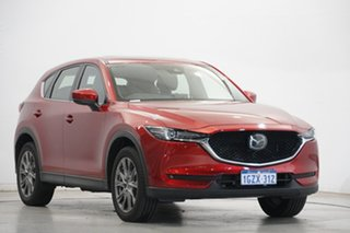 2020 Mazda CX-5 KF4WLA Akera SKYACTIV-Drive i-ACTIV AWD Burgundy 6 Speed Sports Automatic Wagon