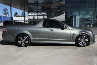 2015 Holden Ute VF MY15 SV6 Ute Storm Grey 6 Speed Sports Automatic Utility.