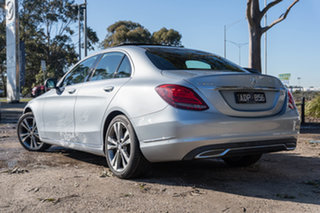 2014 Mercedes-Benz C-Class W205 C200 BlueTEC 7G-Tronic + Diamond Silver 7 Speed Sports Automatic.