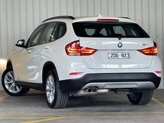 2013 BMW X1 E84 LCI sDrive20i Steptronic White 8 Speed Sports Automatic Wagon.