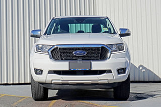 2020 Ford Ranger PX MkIII 2021.25MY XLT Hi-Rider White 6 Speed Sports Automatic Double Cab Pick Up.