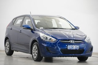 2016 Hyundai Accent RB3 MY16 Active Blue 6 Speed Constant Variable Hatchback