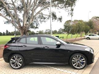 2020 BMW X2 F39 M35i Coupe Steptronic AWD Pure Black 8 Speed Sports Automatic Wagon.