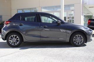 2021 Mazda 2 DJ2HAA G15 SKYACTIV-Drive Pure Machine Grey 6 Speed Sports Automatic Hatchback.