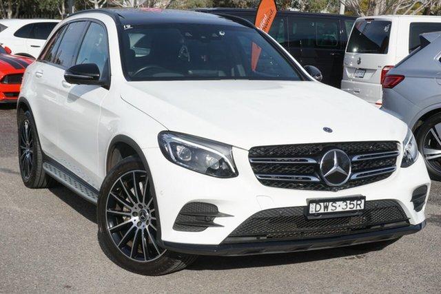 Used Mercedes-Benz GLC-Class X253 808MY GLC350 d 9G-Tronic 4MATIC Phillip, 2018 Mercedes-Benz GLC-Class X253 808MY GLC350 d 9G-Tronic 4MATIC White 9 Speed Sports Automatic