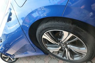 2019 Honda Civic 10th Gen MY19 VTi-LX Blue 1 Speed Constant Variable Sedan
