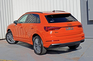 2019 Audi Q3 F3 MY20 35 TFSI S Tronic Launch Edition Orange 6 Speed Sports Automatic Dual Clutch.