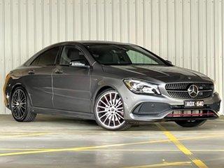 2017 Mercedes-Benz CLA-Class C117 808MY CLA250 DCT 4MATIC Sport Grey 7 Speed.