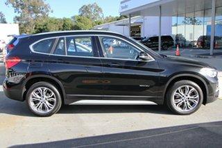 2017 BMW X1 F48 sDrive18d Steptronic Black 8 Speed Sports Automatic Wagon.