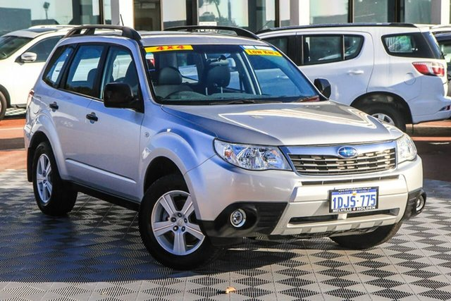 Used Subaru Forester S3 MY10 XS AWD Attadale, 2010 Subaru Forester S3 MY10 XS AWD Silver 5 Speed Manual Wagon