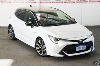 2020 Toyota Corolla ZWE211R ZR E-CVT Hybrid Frosted White + Black Roof 10 Speed Constant Variable.