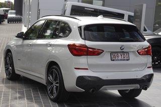 2017 BMW X1 F48 xDrive25i Steptronic AWD White 8 Speed Sports Automatic Wagon.