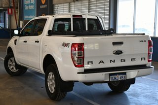 2018 Ford Ranger PX MkII 2018.00MY XLS Double Cab Cool White 6 Speed Sports Automatic Utility.