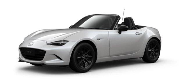 New Mazda MX-5 ND SKYACTIV-MT Mornington, 2021 Mazda MX-5 ND SKYACTIV-MT Snowflake White Pearl 6 Speed Manual Roadster