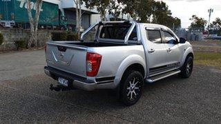 2016 Nissan Navara NP300 D23 ST (4x4) Silver 7 Speed Automatic Dual Cab Utility.