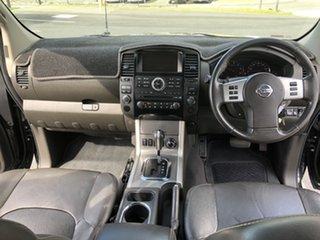 2012 Nissan Navara D40 S6 MY12 ST-X 550 Black Automatic