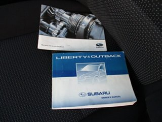 2006 Subaru Liberty Silver 4 Speed Automatic Sedan