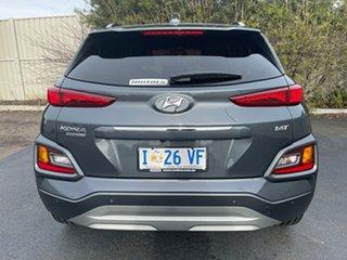 2019 Hyundai Kona OS.3 MY20 Highlander D-CT AWD Dark Knight & Black Roof 7 Speed