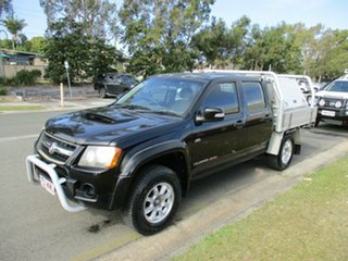 2009 Holden Colorado RC MY09 LX Crew Cab Black 5 Speed Manual Cab Chassis