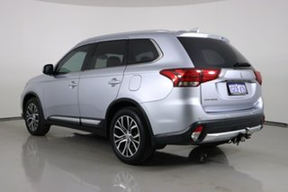 2016 Mitsubishi Outlander ZK MY17 LS Safety Pack (4x2) Silver Continuous Variable Wagon