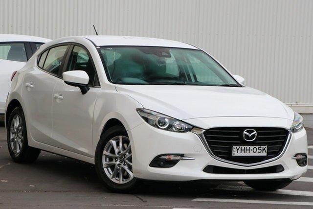 Used Mazda 3 BN5478 Maxx SKYACTIV-Drive Wollongong, 2016 Mazda 3 BN5478 Maxx SKYACTIV-Drive White 6 Speed Sports Automatic Hatchback
