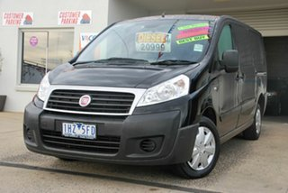 2015 Fiat Scudo MY13 LWB Black 6 Speed Manual Van.