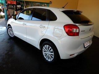 2020 Suzuki Baleno GL (Qld) White 4 Speed Automatic Hatchback.