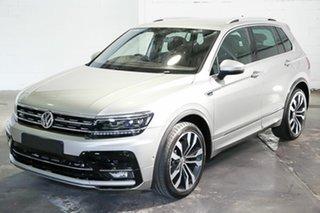 2018 Volkswagen Tiguan 5N MY19 162TSI DSG 4MOTION Highline Silver 7 Speed.