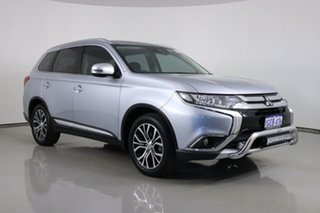 2016 Mitsubishi Outlander ZK MY17 LS Safety Pack (4x2) Silver Continuous Variable Wagon.