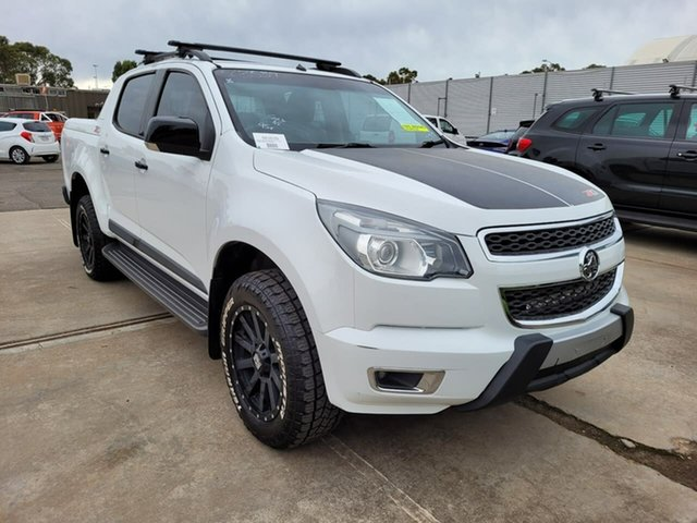 Used Holden Colorado RG MY16 Z71 Crew Cab Elizabeth, 2015 Holden Colorado RG MY16 Z71 Crew Cab White 6 Speed Sports Automatic Utility