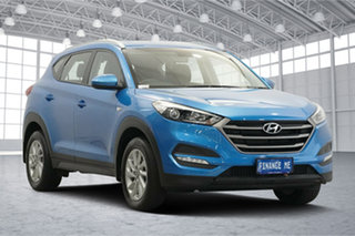 2017 Hyundai Tucson TL2 MY18 Active 2WD Ara Blue 6 Speed Sports Automatic Wagon.