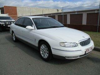 2000 Holden Statesman WH White 4 Speed Automatic Sedan.
