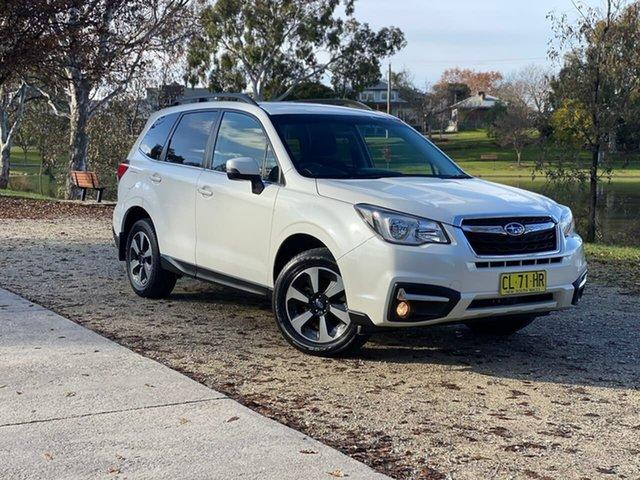 Used Subaru Forester S4 MY18 2.5i-L CVT AWD Wodonga, 2017 Subaru Forester S4 MY18 2.5i-L CVT AWD White 6 Speed Constant Variable Wagon