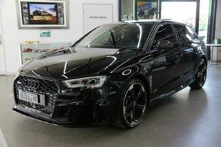 2020 Audi RS 3 8V MY20 Carbon Edition Sportback S Tronic Quattro Black 7 Speed
