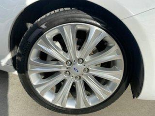 2012 Ford Falcon FG MkII G6E Turbo White 6 Speed Sports Automatic Sedan.